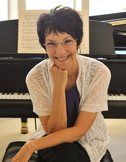 Dr. Peggy Rostron, piano teacher